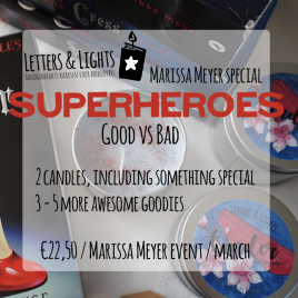 SUPERHEROES – Marissa Meyer inspired box
