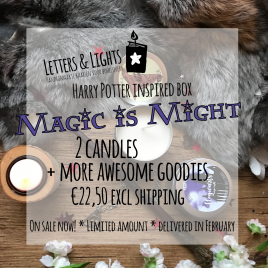MAGIC IS MIGHT – Harry Potter Inspired Box