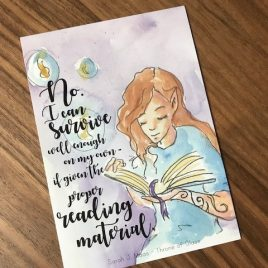 Quotekaart – Reading material