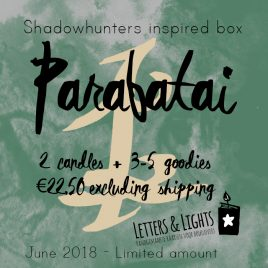 PARABATAI – Shadowhunters inspired box