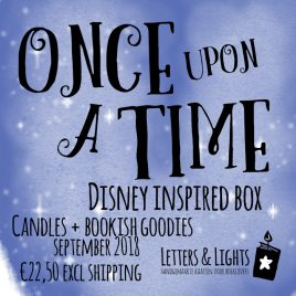ONCE UPON A TIME – Disney inspired box