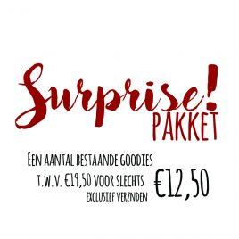 Surprise pakket 1 t.w.v.. €19,50
