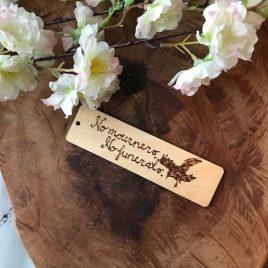 Woodmark – No mourners, no funerals