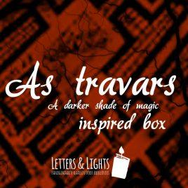 As Travars – A darker shade of magic inspired box